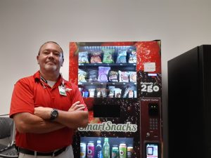 Raul Morales, Owner of Harmony Vending, Inc.
